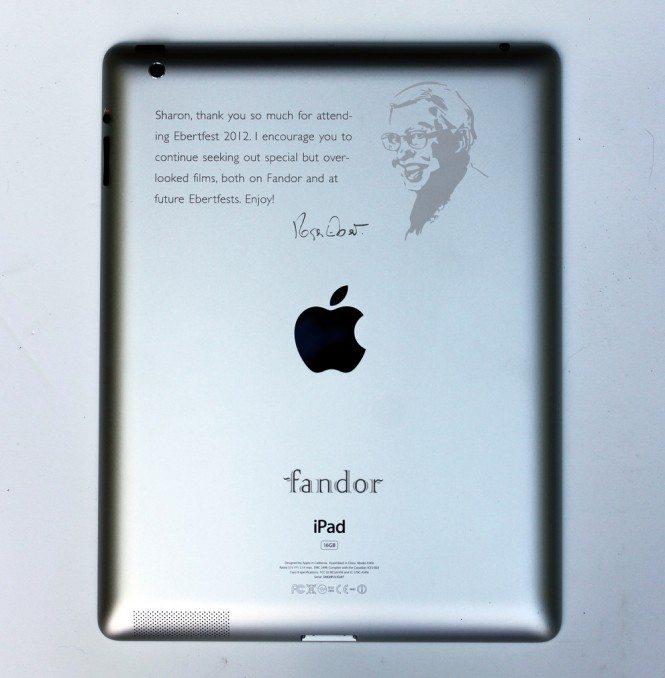 Ebertfest iPad